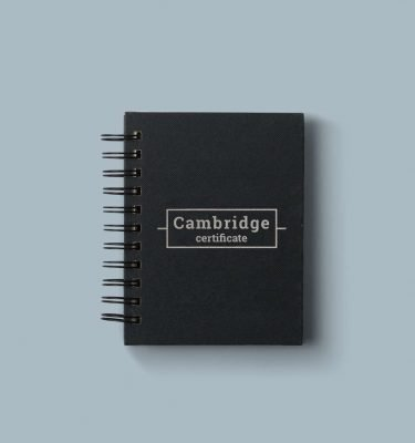 Cambridge certificate preparation