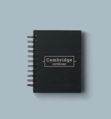 Cambridge certificate preparation